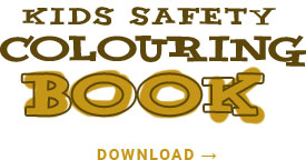 kids safety colouring book free download