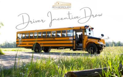 Congratulations 2020/2021 Driver Incentive Draw Winners